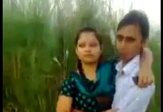 Desi Couple Romance Plus Kissing In Fields Outdoor
