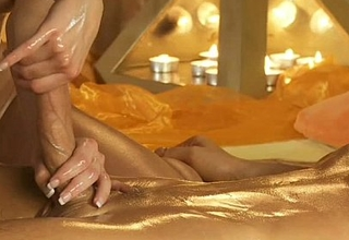 Erotic Turkish Cook jerking Massage