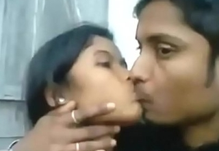 Desi Indian Girl Blowjob will not hear of BF Outdoor Hot