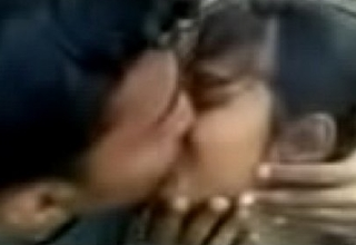 Hot Outdoor Kissing