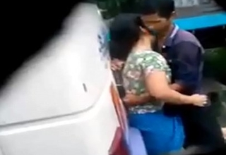 desi girl and boy sex in bus terminal Caught on spy cam