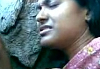 Cute Bengali Girl'_s Boobs Fondeled By Say no to Boy Friend Behind Be imparted to murder Rocks