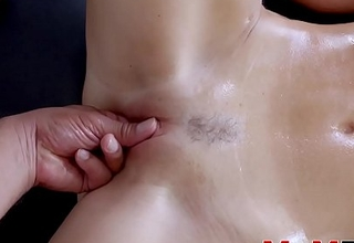 Fabulous India Summer fingered before stepson cock insertion