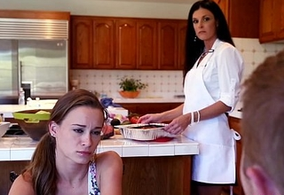 Stepmom India Summer seducing stepdaughter Kacy Lane