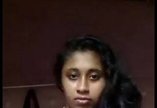 South Indian mallu girl Anjusha self made clip trickled by her bf