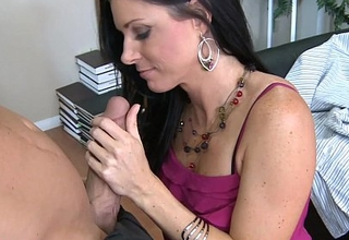 Superb brunette India Summer fucking